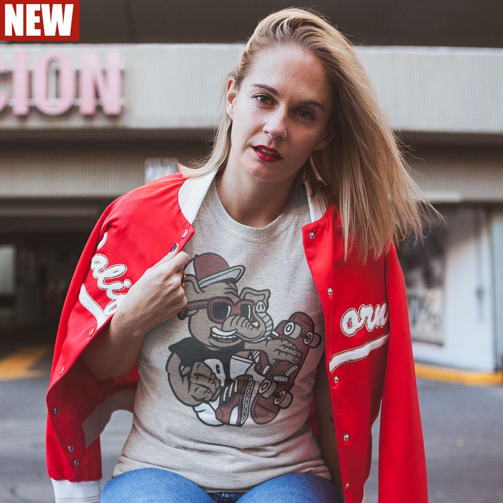 Skateboarding Elephant T-Shirt