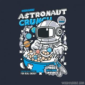 Astronaut Crunch Cereal T-Shirt