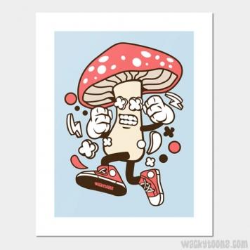 Magic Mushroom Wall Art
