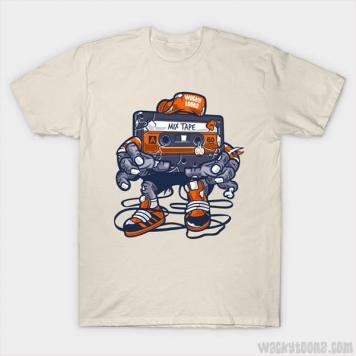 Mix Tape Zombie T-Shirt